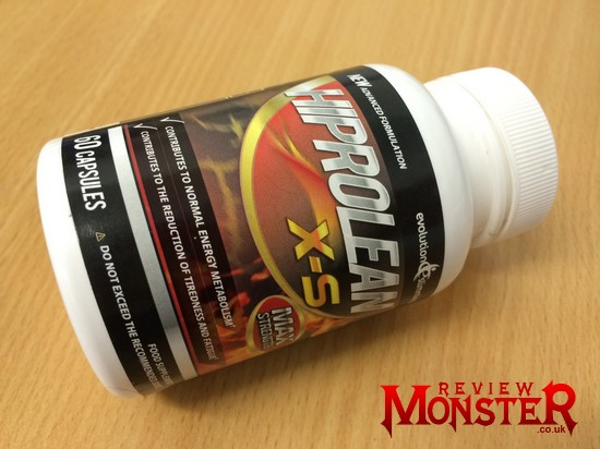 hiprolean xs with caffeine